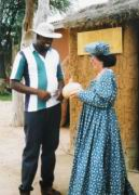 Ilse als Herero-Frau