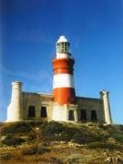 Leuchtturm am Cap Agulhas...