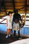Ilse mit einem Zulu-Mann