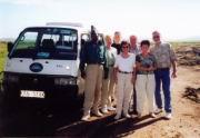 Die Truppe mit Fahrer Alfred