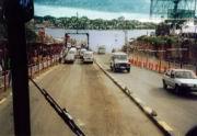 Abfahrt über die Likoni-Fähre