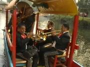 Livemusik auf dem Boot