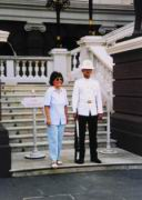 Wache vor dem Königspalast
