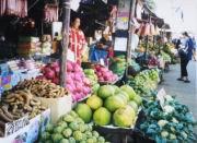 Marktstände in Bangkok