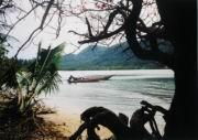 Eine einsame Bucht