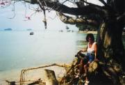 Ilse am Strand