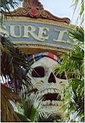Totenkopf beim Treasure Island