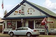 Angel's Barbershop in Seligman