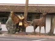 Eine Skulptur in Scottsdale