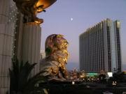 Vor dem MGM Grand