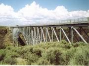 Brücke über den Rio Grande