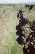 Rio Grande etwas trocken