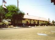 Bahnhof und Visitor Center