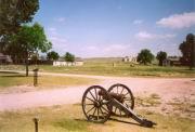 Eine alte Kanone