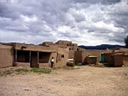 Pueblo-Häuser...