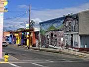 Straße in Silver City