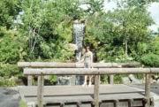 Ilse auf der Brücke
