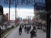 Erste Fahrt in Hanoi