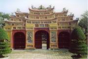 Tor zum Kaiserpalast in Hue
