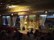 Abendessen im Hotel Rex
